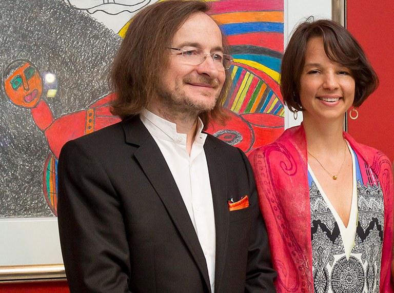 gugging talks: Art Brut aus ExpertInnensicht. © Johann Feilacher und Nina Katschnig (c) Ludwig Schedl