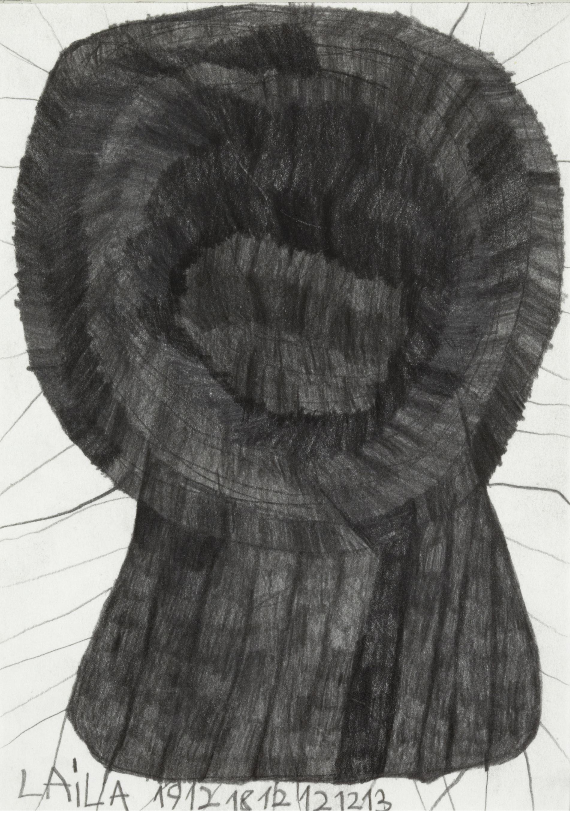 Laila Bachtiar, Ein Baum, 2010  © galerie gugging