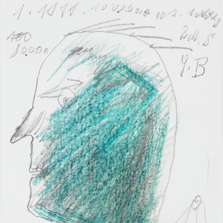Josef Blahaut, Kopf, 1979 © Privatstiftung – Künstler aus Gugging