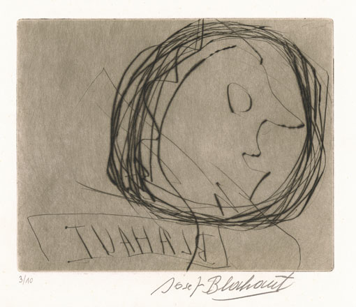 Josef Blahaut, Kopf, undatiert © Privatstiftung – Künstler aus Gugging