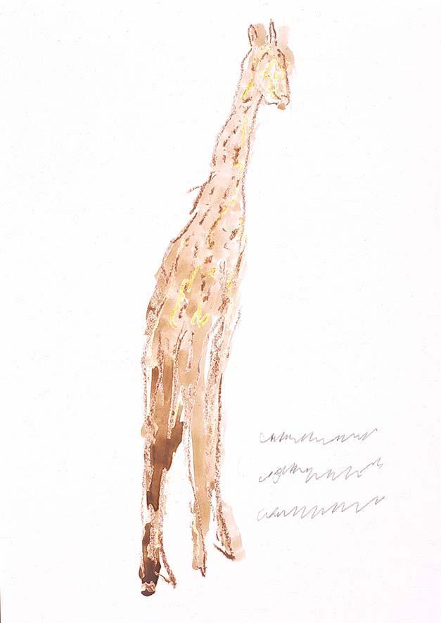 Franz Kamlander, Giraffe, 1998 © Art Brut KG