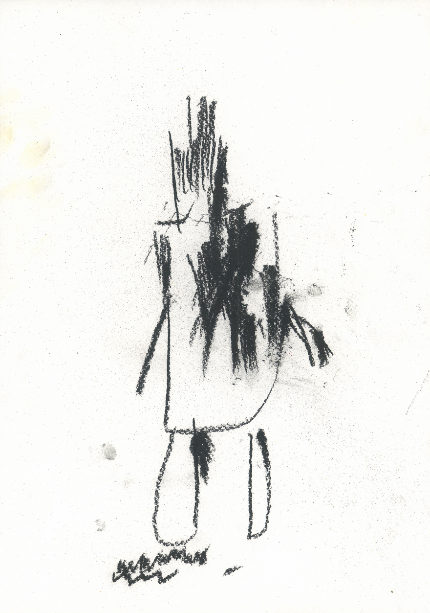 Rudolf Limberger, Mensch, 1983 © Privatstiftung – Künstler aus Gugging