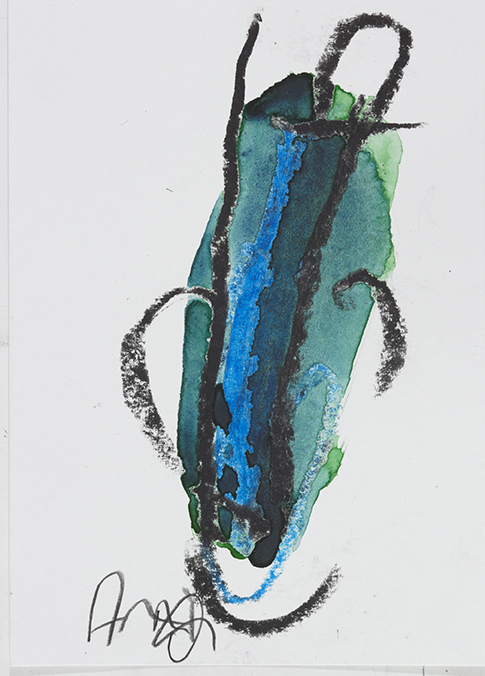 Arnold Schmidt, Ohne Titel, 2013 © Privatstiftung - Künstler aus Gugging