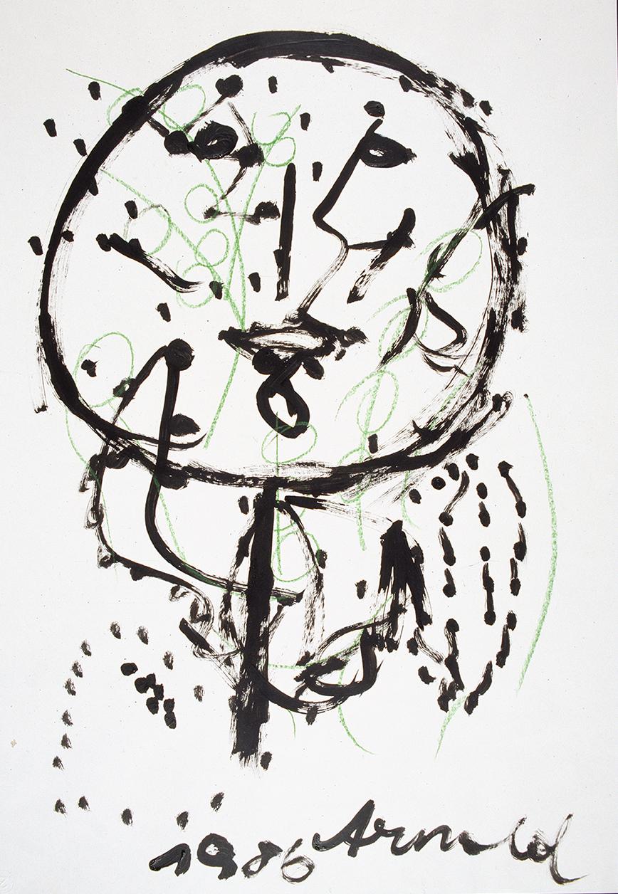 Arnold Schmidt, Figur, 1986 © Privatstiftung - Künstler aus Gugging