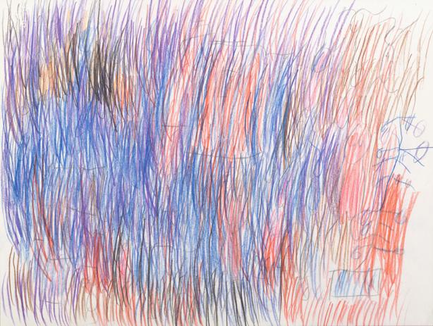 Erich Zittra, Ohne Titel, 1980 © Privatstiftung – Künstler aus Gugging