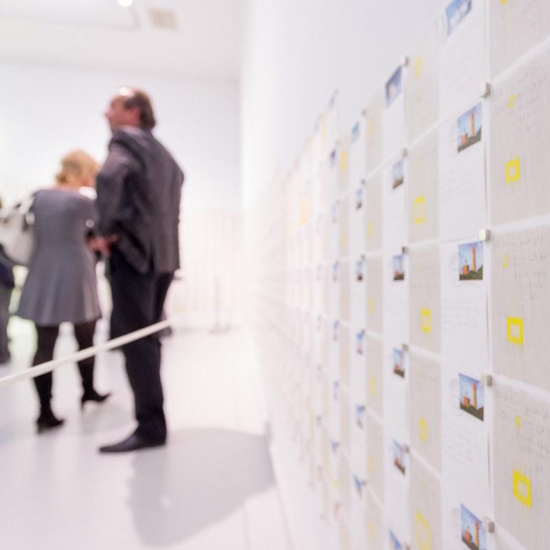 Besucher der Ausstellung © Foto: Ludwig Schedl, 2014 © Foto: Ludwig Schedl, 2014