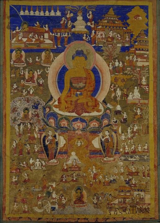 Buddha Sakyamuni, Frühes 19. Jhdt., Tibet