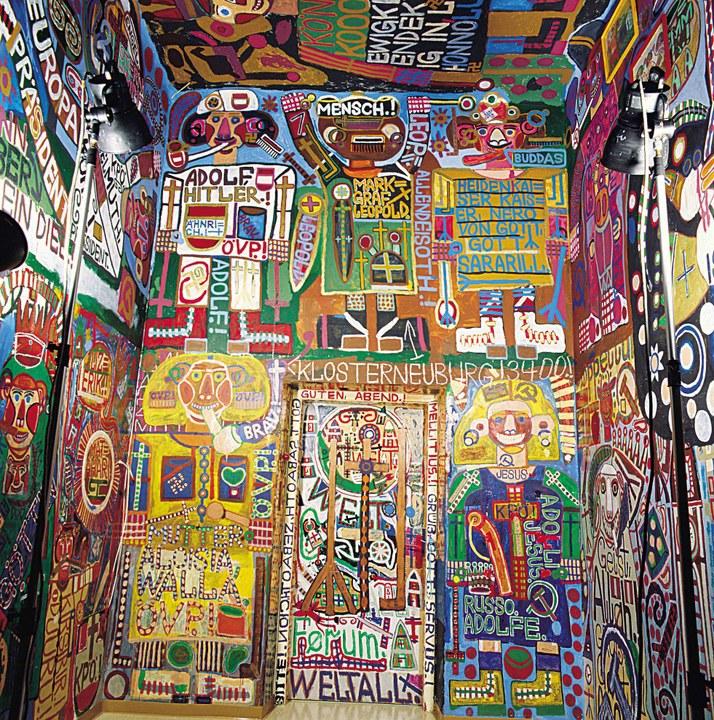 Walla-Zimmer im Haus der Künstler © Art Brut KG