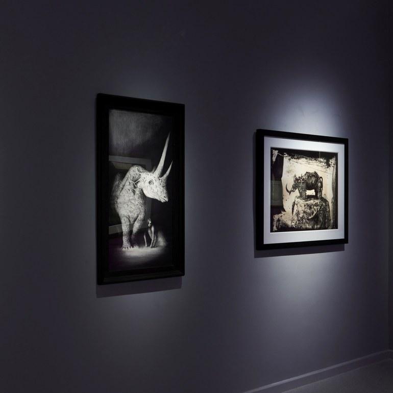 Ausstellungsansicht existence.!