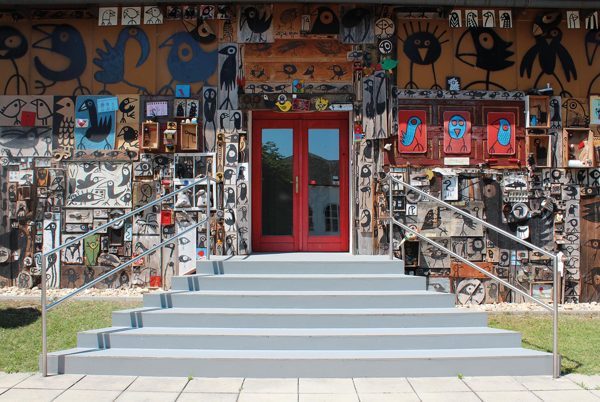 Eingang Villa Gugging © Foto: museum gugging, 2016