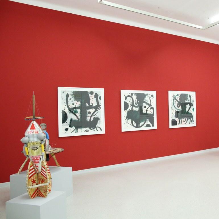 Ausstellungsbereich © Foto: Ludwig Schedl, 2015